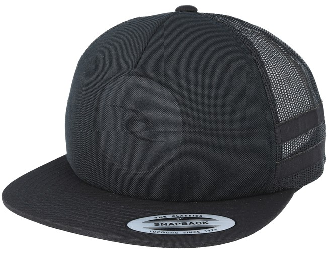 7a9add1b679 Mono Trucker Black Snapback - Rip Curl caps