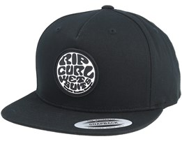 Wetty Original Black Snapback - Rip Curl