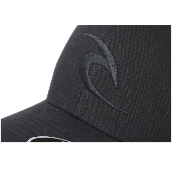 9cec7b74d3c Tepan Curved Peak Black Adjustable - Rip Curl caps - Hatstorecanada.com