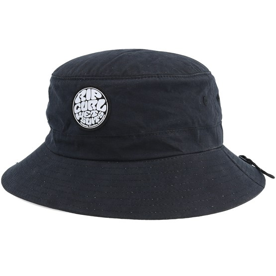 1a49b646f7ad3 Wetty Surf Hat Black Bucket - Rip Curl hats