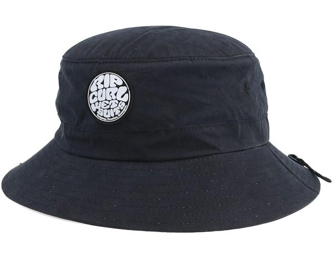 6a38e2ae7ef0c Wetty Surf Hat Black Bucket - Rip Curl hat - Hatstore.co.in