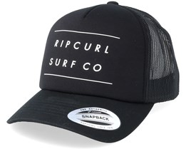 Against The Tide Black Trucker - Rip Curl