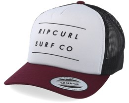 Against The Tide Optical White/Maroon Trucker - Rip Curl