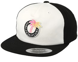 Kids Tropic Topic Optical White/Black Snapback - Rip Curl