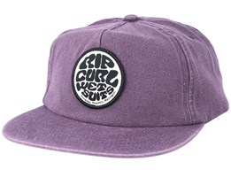 Washed Wetty Purple Strapback - Rip Curl