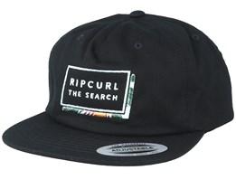 Pro Model Black Strapback - Rip Curl