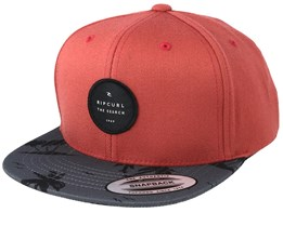 Kids Palmyard Boy Light Red Snapback - Rip Curl