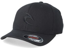 Tepan Curve Peak Black Flexfit - Rip Curl