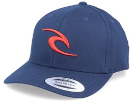 Tepan Curved Navy/Red Adjustable - Rip Curl
