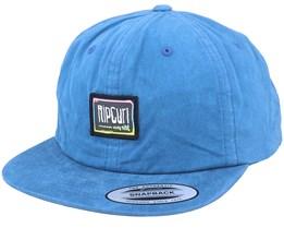 Native Glitch Dad Cap Blue Snapback - Rip Curl