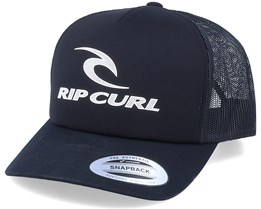 The Surfing Company Black/White Trucker - Rip Curl