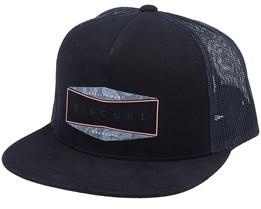 Lineup Black/Black Trucker - Rip Curl