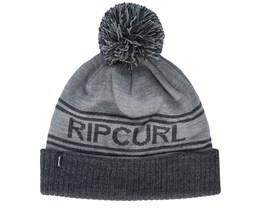 Rail Beanie Grey Pom - Rip Curl