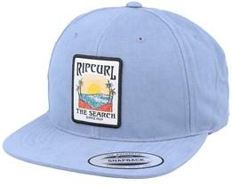 Custom Sb Cap Dusty Blue Snapback - Rip Curl