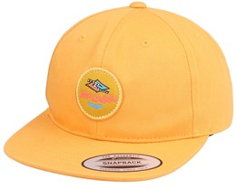 Kids Diamond Check Sb Cap Mustard Snapback - Rip Curl