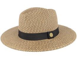 Dakota Panama  Black/Tan Straw Hat - Rip Curl