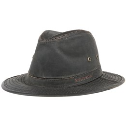 Diaz Co Pe Brown Fedora - Stetson - Start Cappellino - Hatstore ad677c340fba