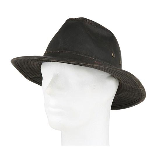 dd82ed6d Ava Co/Pe Brown Fedora - Stetson hats - Hatstoreworld.com