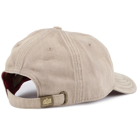 ba1a10aaa84 Marshal Cotton Beige Adjustable - Stetson cap - Hatstore.de