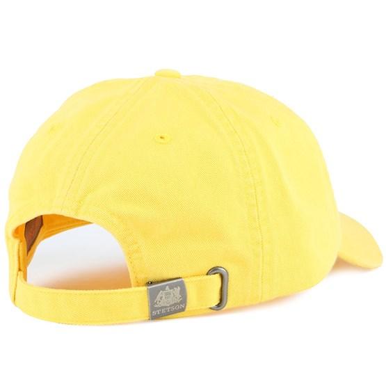 bfe220efb2463 Rector Cotton Yellow Adjustable - Stetson caps - Hatstoreworld.com