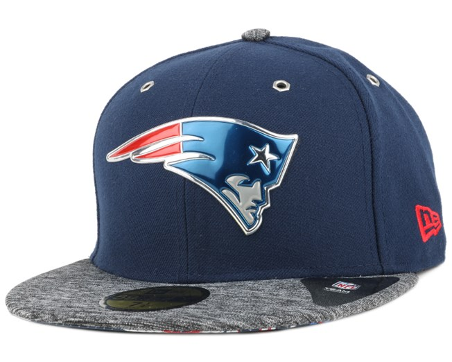 0858cb0eb4852e New England Patriots NFL Draft 2016 On Stage 59Fifty - New Era caps ...