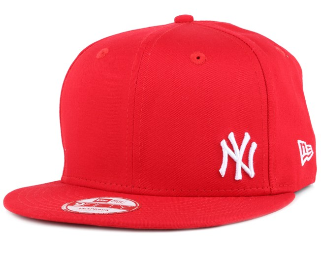 1447a2ef1 NY Yankees Flawless Scarlet/White 9Fifty Snapback - New Era caps ...