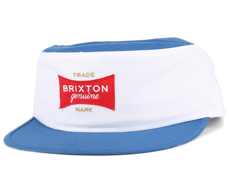 Mario White Royal Painters Cap Brixton Caps