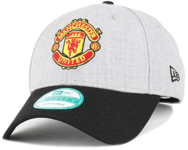 Manchester United Heather Grey 940 Adjustable - New Era caps ... b65e0a234f