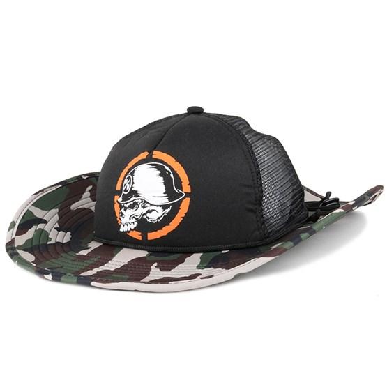 Hatt Hellbound Cowbuck Camo - Metal Mulisha - Camo Traveller