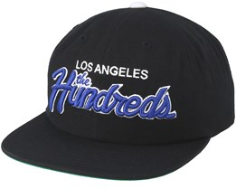 6a6d9abe45c Team Two Black Snapback - The Hundreds