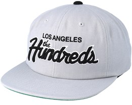 Team Two Light Grey Snapback - The Hundreds