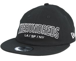 Rain Black Strapback - The Hundreds
