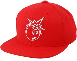 Vent Red Snapback - The Hundreds