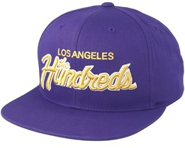 Team Two Light Purple Snapback - The Hundreds