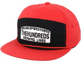 Race Red Snapback - The Hundreds