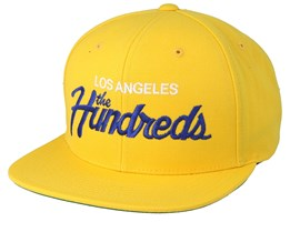 Team Sp19 Yellow Snapback - The Hundreds