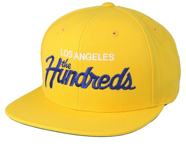d3203ef527b50 Team Sp19 Yellow Snapback - The Hundreds caps - Hatstoreaustralia.com