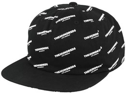 Pierce Black Snapback - The Hundreds