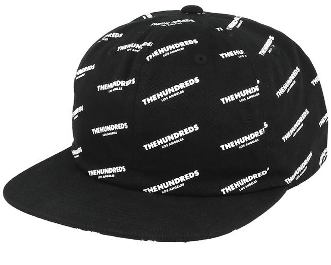 e788fd16bdf Pierce Black Snapback - The Hundreds caps