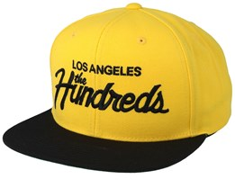 Team Su19 Yellow/Black Snapback - The Hundreds