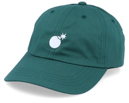 Bomb Hunter Green/White Adjustable - The Hundreds