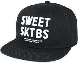 90 Entlist Black Snapback - Sweet