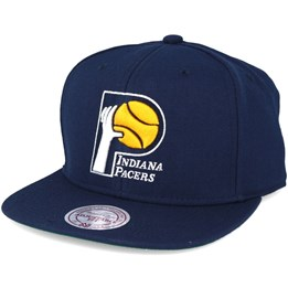 low priced bf01e 45fe2 Mitchell   Ness Indiana Pacers Wool Solid Navy Snapback - Mitchell   Ness   29.99. Almost Gone! Mitchell   Ness New York Knicks ...