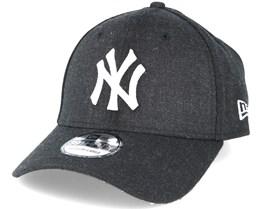 NY Yankees Heather Black 39thirty Flexfit - New Era
