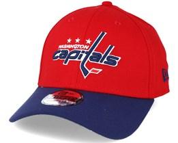 Washington Capitals NHL Essential Red/Blue 39thirty Flexfit - New Era