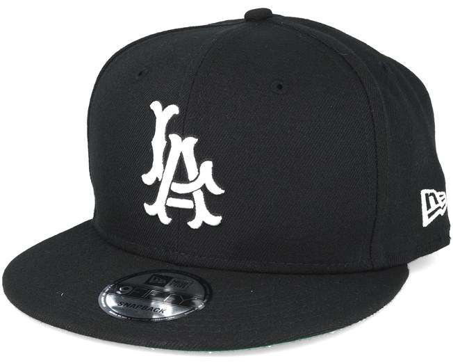 d153935defd5b Los Angeles Angels MLB Cooperstown Black Snapback - New Era caps ...