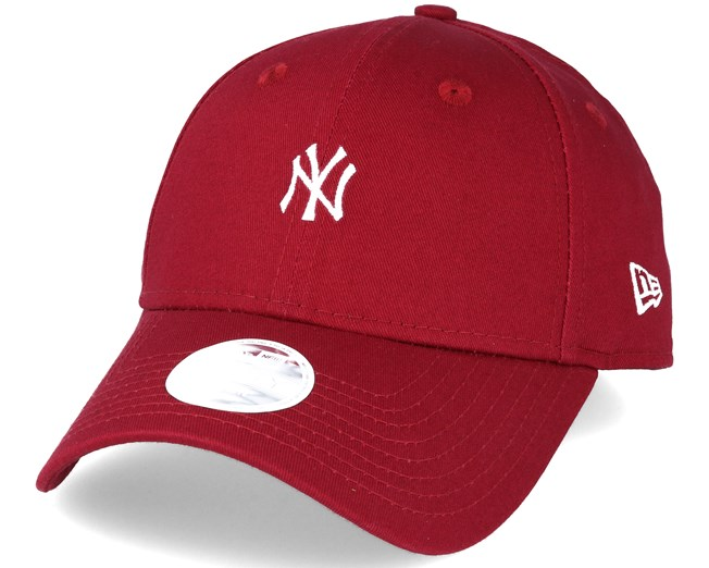 1fd2feb659e New York Yankees MLB Small Logo Red 9forty Adjustable - New Era caps ...