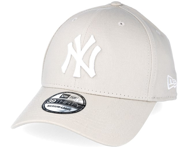 714966b88e5621 New York Yankees MLB League Essential Beige 39thirty Flexfit - New Era