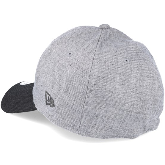 90a88d1de42 Chicago Bulls NBA Heather Grey 39thirty Flexfit - New Era caps ...