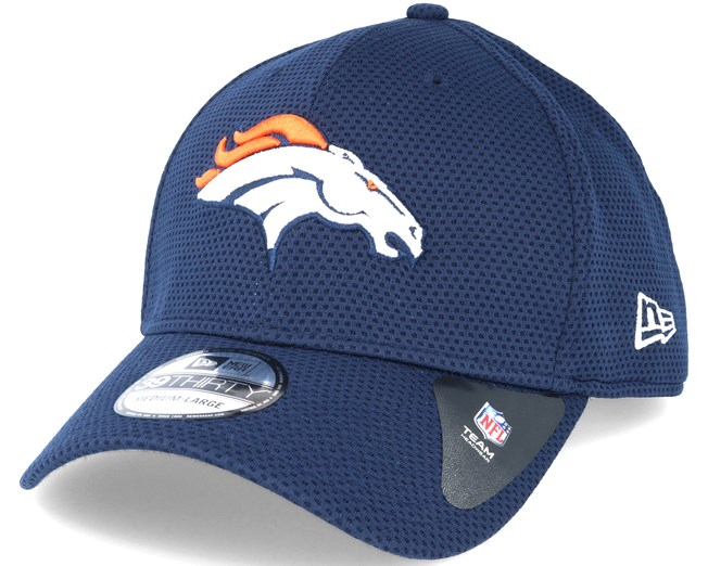 f8af837fa87 Denver Broncos Sideline Tech Navy 39thirty Flexfit - New Era caps ...